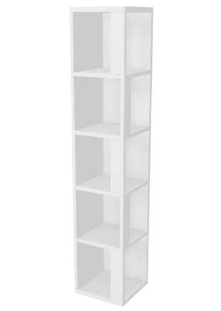 décor library tall storage
